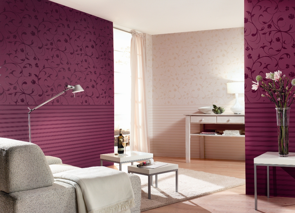 Arte Tapeten Deutschland : Burgundy Interior Colors